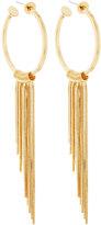 Rebecca Minkoff 12k Gold-Plated Fringe Hoop Earrings
