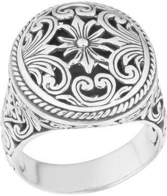 Handmade Sterling Silver Bold Statement Cawi Ring