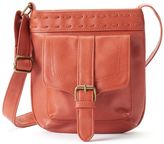 T-Shirt & Jeans Whipstitch Laced Crossbody Bag