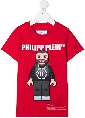 Philipp Plein Logo Graphic-Print T-Shirt