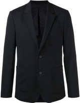 Ami Alexandre Mattiussi half-lined two button jacket