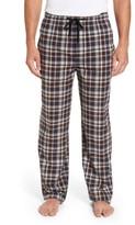 Majestic International Men's Bryson Plaid Flannel Lounge Pants
