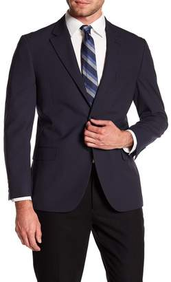 Nautica Pinstripe Woven Notch Collar Suit Separate Jacket