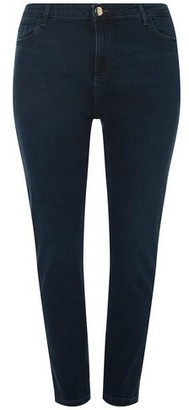 Dorothy Perkins Womens Dp Curve Blue 'Darcy' Skinny Jeans, Blue