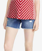 Jessica Simpson Cuffed Denim Maternity Shorts