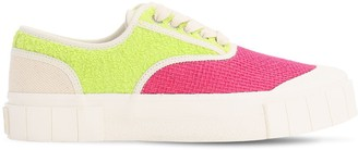 Good News Softball Color Block Canvas Sneakers