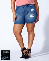 Penningtons Tess Holliday - Distressed Denim Short