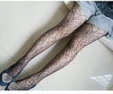HuntGold Lady Girl Elastic Stocking Spider Web Hosiery Tights Pantyhose