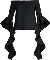 Ellery Delores off-the-shoulder cotton top