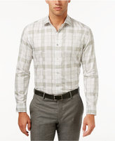 Alfani Collection Men's Classic Fit Plaid Shirt, Created for Macy's