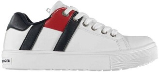 Tommy Hilfiger Large Stripe Lace Trainers