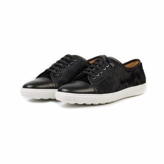 Donhall & Bell Redchurch Calf Hair Luxury Sneaker Black