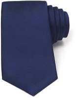 Turnbull & Asser Solid Rib Wide Tie