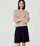 LOFT Petite Knit Circle Skirt