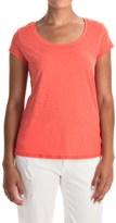 Mercer & Madison Mercer and Madison Pima Cotton Slub T-Shirt - Short Sleeve (For Women)