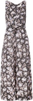 Zimmermann floral jumpsuit - women - Cotton/Linen/Flax - 0