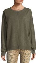 Current/Elliott The Destroyed Knit Wool-Cashmere Sweater