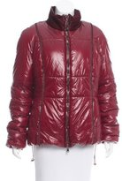 Henry Beguelin Shearling-Trimmed Puffer Coat