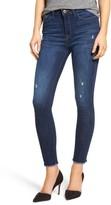 DL1961 Petite Women's Ryan High Waist Ankle Skinny Jeans