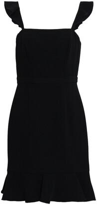 Rachel Zoe Michele Ruffle-trimmed Cady Mini Dress