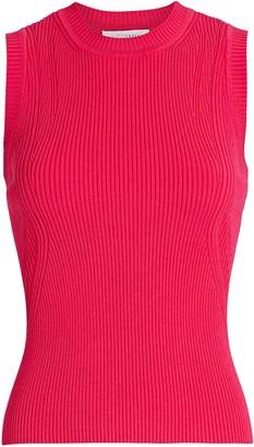 Intermix Abby Sleeveless Rib Knit Top