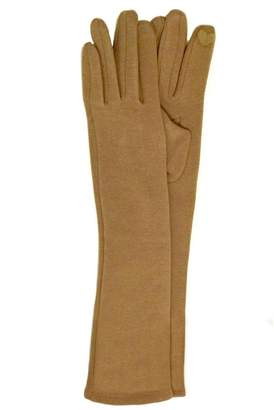 Antonello Serio Long Knit Gloves