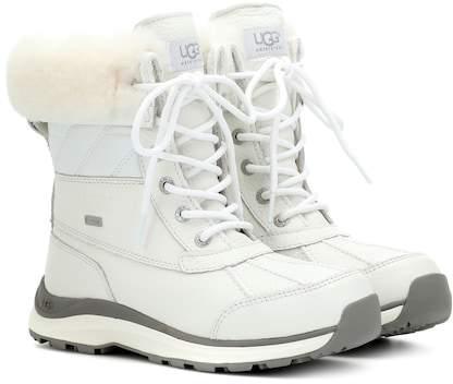 UGG Adirondack II leather ankle boots