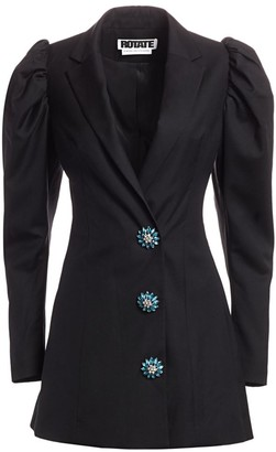 Rotate by Birger Christensen Carol Puff-Sleeve Blazer Dress