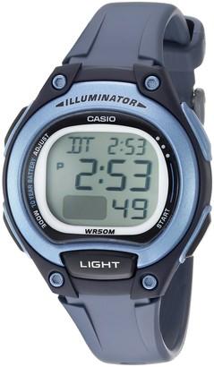 Casio Women's Classic Quartz Watch with Resin Strap Blue 14 (Model: LW-203-2AVCF)