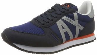 Armani Exchange Micro Suede Multicolor Sneakers Sneaker Men's
