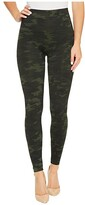 Spanx Look At Me Now Seamless Leggings (Green Camo) Women's Clothing