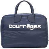 Courreges logo holdall - women - Cotton/Polyamide - One Size