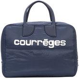 Courreges logo holdall