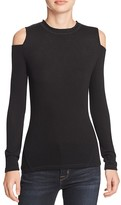 Elie Tahari Agnes Cold Shoulder Tee