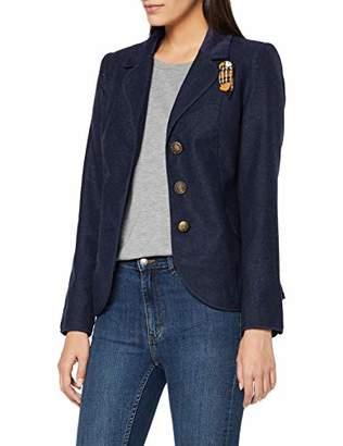 Joe Browns Womens Simple Button Up Blazer Blue