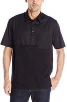 Vivienne Westwood Men's Hybrid Stretch Poplin Box Polo Shirt