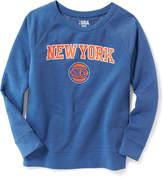 Old Navy NBA® Team Fleece-Lined Sweatshirt for Women