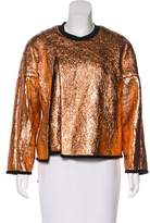 3.1 Phillip Lim Layered Metallic Sweatshirt