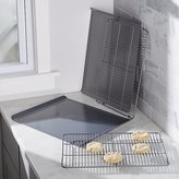 Crate & Barrel Calphalon ® 4-Piece Cookie Sheet and Cooling Rack Set