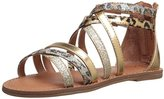 Nina Honey Back Zip Sandal (Toddler/Little Kid/Big Kid)