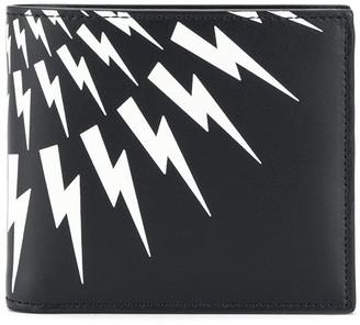 Neil Barrett Thunderbolt-print wallet