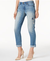 Vintage America Embroidered Straight-Leg Jeans
