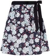 Claudie Pierlot Floral Bow Skirt