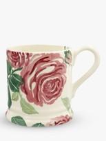 Emma Bridgewater Pink Roses Half Pint Mug, 280ml, Pink/Multi