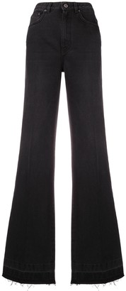 Givenchy fitted flared jeans