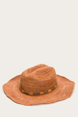 The Frye Company Raffia Cowboy Hat