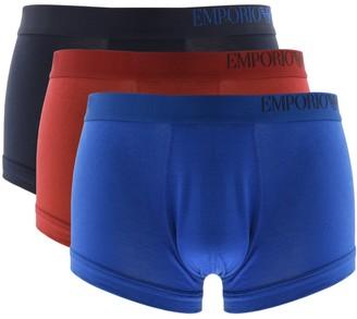 Giorgio Armani Emporio Underwear 3 Pack Boxer Trunks