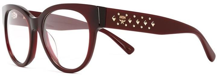 MCM round frame glasses
