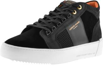 Android Propulsion Velvet Mid Trainers Black
