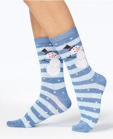 Charter Club Women's Holiday Crew Socks, Created for Macy's